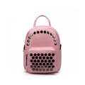 Fashion New MINI Backpack Women Trendy Rivets Designer PU Small Bag Multi purpose Bag Shoulder Bag