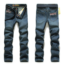 2016 New Solid Jeans Men High Quality Denim Overalls Casual Biker Jeans Hip Hop Elastic Brand Clothing Plus Size