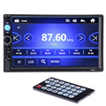 2 din Car Video Player 7 HD Bluetooth Steering wheel Stereo FM Radio MP3 MP4 MP5