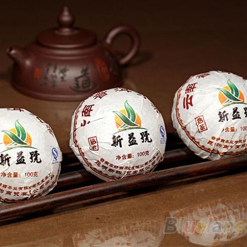 Xin Yi Hao Menghai Tuo Cha Puer Tea 100g Ripe 028A 4OPB