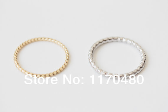 Fashion Korean Brief Twisted Above Knuckle Midi Pinky Rings Free Shipping Dropshipping<br><br>Aliexpress