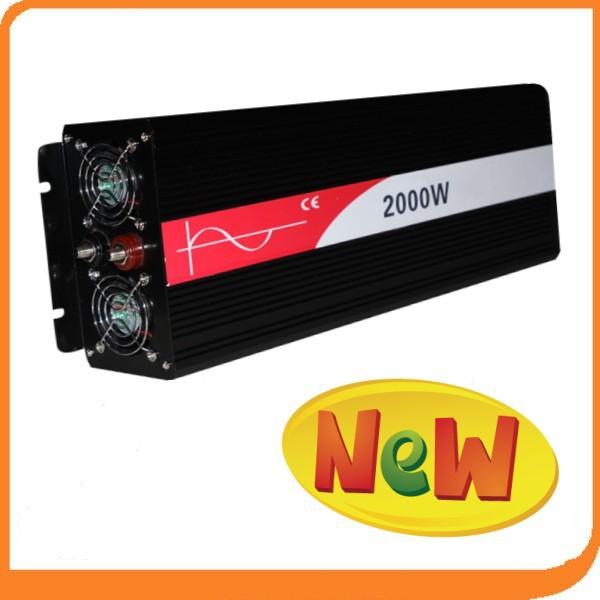 2000W onde sinusoidale pure high qulity dc ac converter off grid pure wave inverter 2000w 24v power inverter 220v/110v(China (Mainland))
