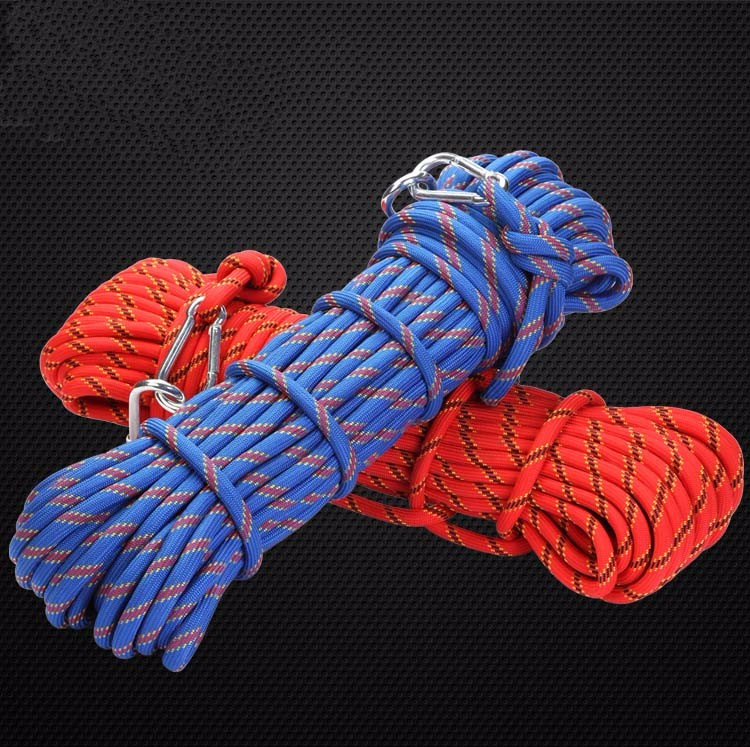 20mm outdoor climbing gear ropes climbing rope downhill safety rope fire escape rope 10meters high quality<br><br>Aliexpress