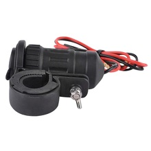 Buy New 240W 12-24V Motorcycle Handle Bar Cigarette Lighter Socket Motorcycle Scooter USB charger Power Port Outlet Socket Power~ for $6.77 in AliExpress store