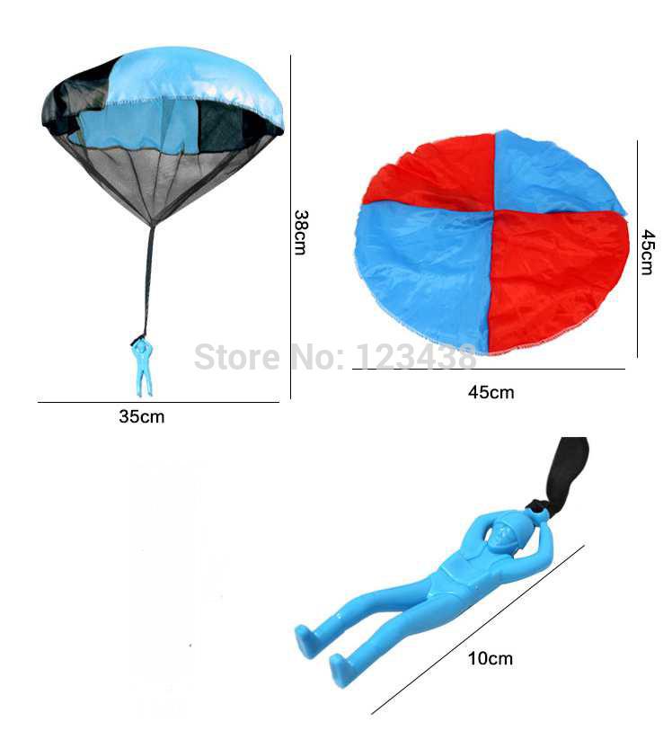Как сделать парашют для солдатика своими руками