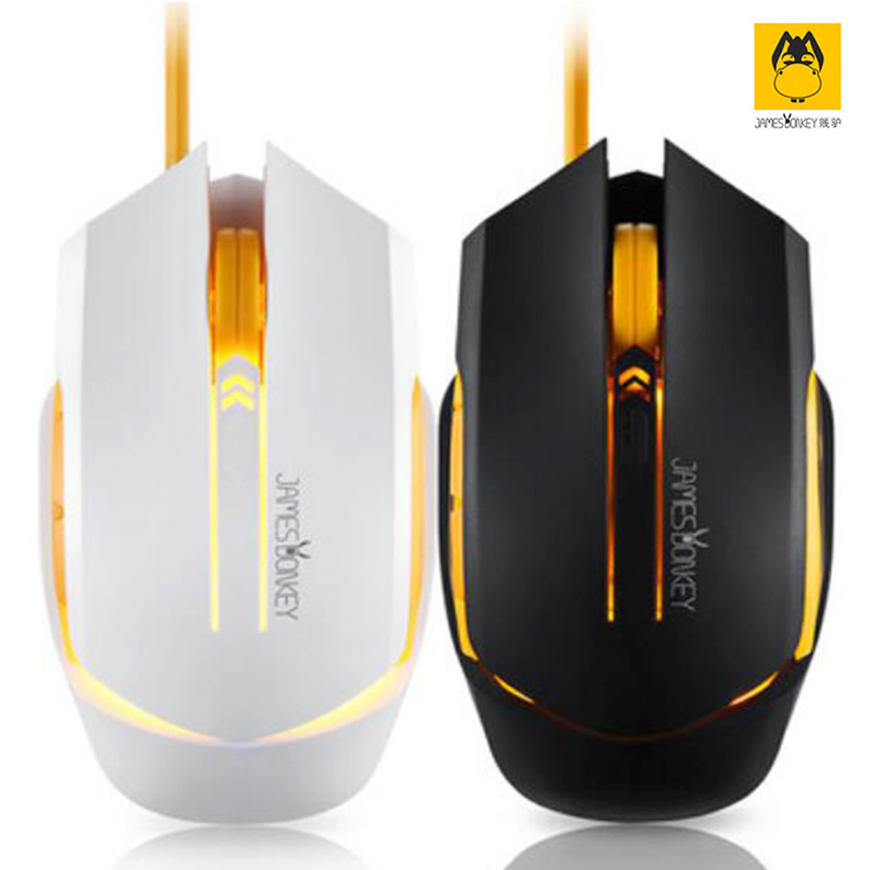 New James Donkey112 USB 2.0 Gaming Wired Mouse super Cool backlight Free Driver Perfect lighting system Comfortable Hand Feeling(China (Mainland))