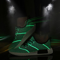 Men Casual Shoes Summer Fashion Designer Lights Jogging Shoes Sport Breathable Comfortable Mesh Shoe NMD Outdoor