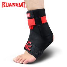 Kuangmi 2016 Black Sport Ankle Brace Support Taekwondo Stivaletti Ropa Mujer Tobilleras Football Legging Botas De Futbol Boots(China (Mainland))