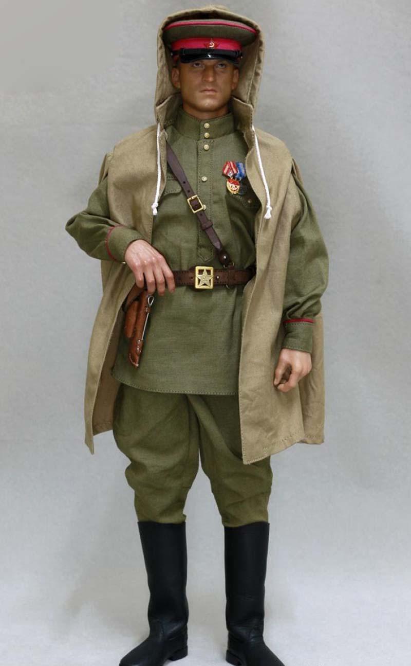 Línea de alerta escala 1//6 la segunda guerra mundial ruso Soviet uniforme y accesorios AL100024 Sin Muñeco