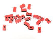 20 шт. красный 2.54 мм шаг 1-Bit 1 позиции пути презентация тип DIP переключатель