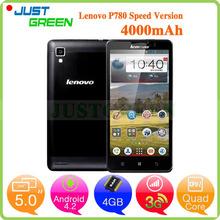 Lenovo P780 Express 3G Smartphone 5″ 1280×720 MTK6589 Quad Core 1GB RAM 4G ROM 0.3MP+8.0MP Camera Dual SIM GPS WCDMA 4000mAh