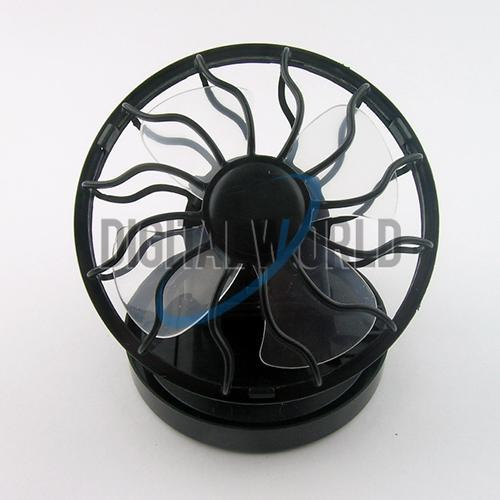 Clip-on Solar Energy Cell Travel Cooling Cool Mini Fan #574(China (Mainland))