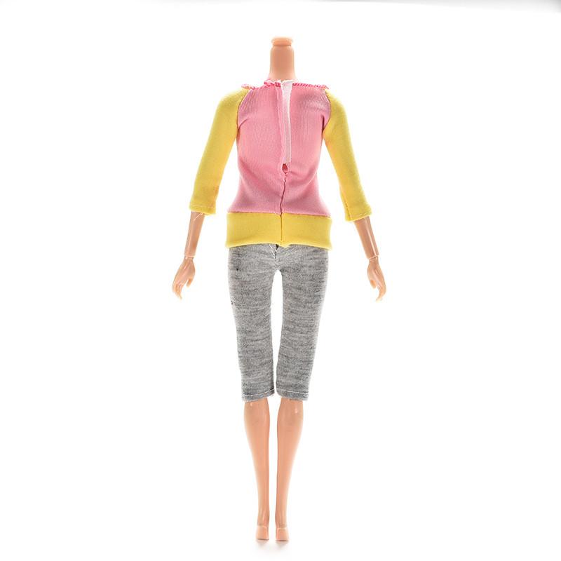 1 комплект одежды куклы модные наряды повседневные платья костюмы для игрушка aeProduct.getSubject()