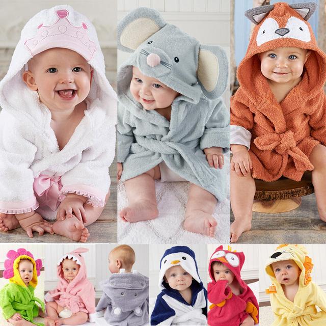 Retail-16 капюшоном животных моделирование детские халат / мультфильм ребенка / персонаж ...
