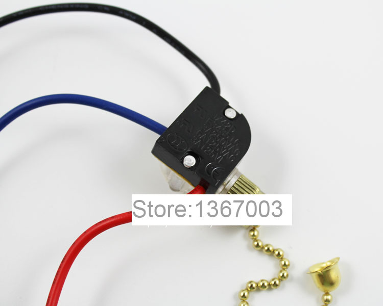 2A MINI SIDE PULL CORD SWITCH WITH STRING FOR CEILING// WALL  LIGHTS.