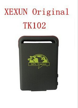 High Quality original from XEXUN GPRS tracker TK102 AGPS Real time tracking SOS SMS/GPRS location update GSM tracking tracked(China (Mainland))