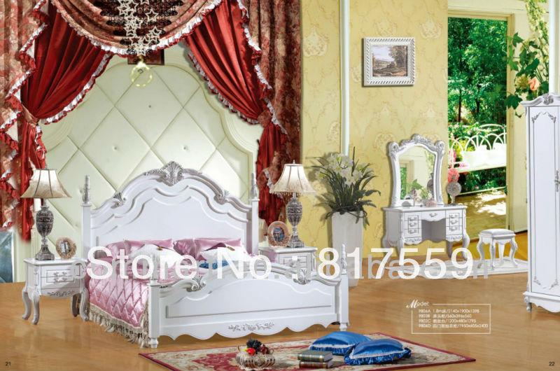 classic bedroom furniture master bedroom furniture sets twin bedroom set(China (Mainland))