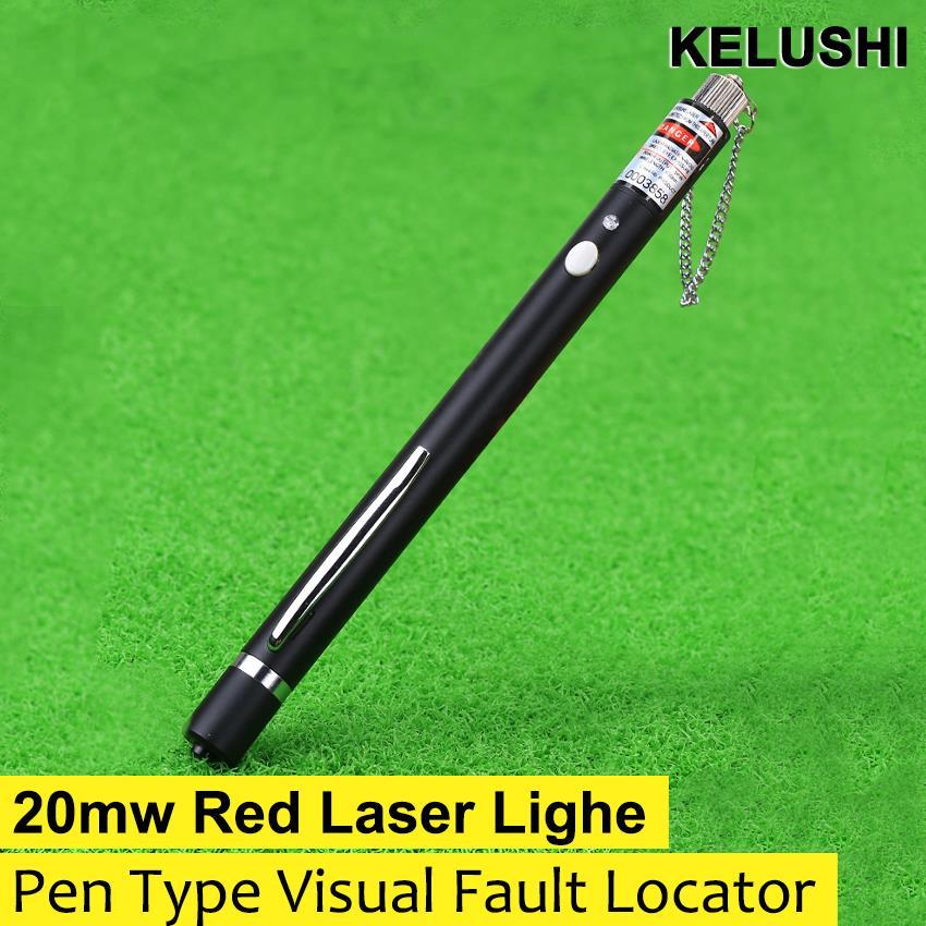 20mW 20KM Visual Fault Locator Fiber Optic Laser Cable Tester Test Equipment(China (Mainland))