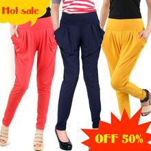 2014 new style harem pants female sports women's skinny long the summer trousers free shipping(China (Mainland))