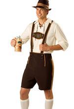 Большой размер октоберфест костюм Lederhosen баварский Octoberfest немецкий пивной фестиваль хэллоуин косплей костюмы для мужчин