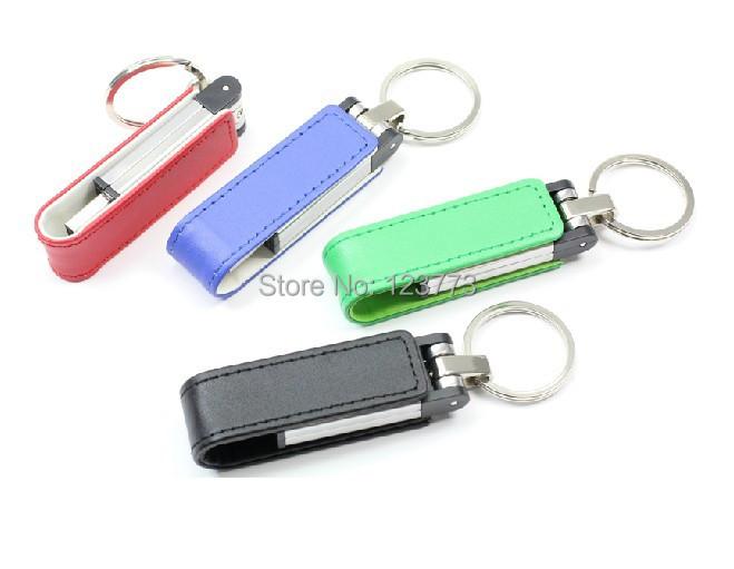 New free shipping 10pcs/lot leather usb 2.0 memory stick flash drive thumb pen drive 4GB 8GB 16GB 32GB (can mix to buy)(China (Mainland))