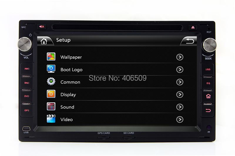 2Din Car DVD Player for VW Volkswagen Passat B5 Jetta Golf Borar with GPS Navigation Radio TV BT TV USB SD AUX MP3 Audio Stereo(China (Mainland))