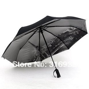 Recommended!! Three elephant Brand Automatic umbrella with Torch Lights