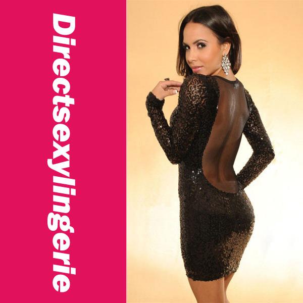 Cheap Sequin Dress - Qi Dress
