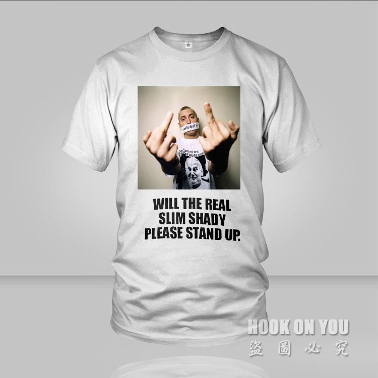 2014 Eminem Music Rap God Cotton Men T-shirt Fashion DJ Male & Famale tees camisetas(China (Mainland))