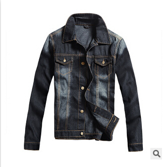 New fashion 2015 men jeans jacket man denim jackets jean outwear coat spring jakcets size M-4XL windbreaker jaqueta masculina(China (Mainland))