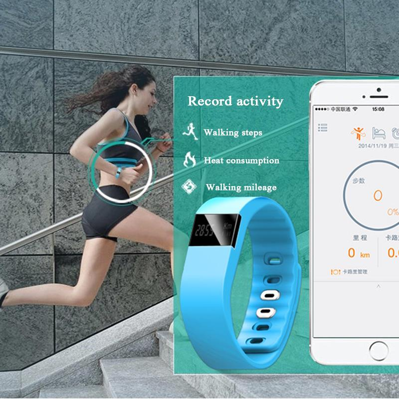 Fitness Activity Tracker tw64 Bluetooth Smartband Sport Bracelet Smart Band health Wristband Pedometer For IOS Samsung Android(China (Mainland))