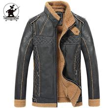 New Men's Air Force One Pilot Fur Leather Jacket Designer Thick Retro Casual Motorcycle Jackets Men Winter Fur Coats DB1F2213(China (Mainland))