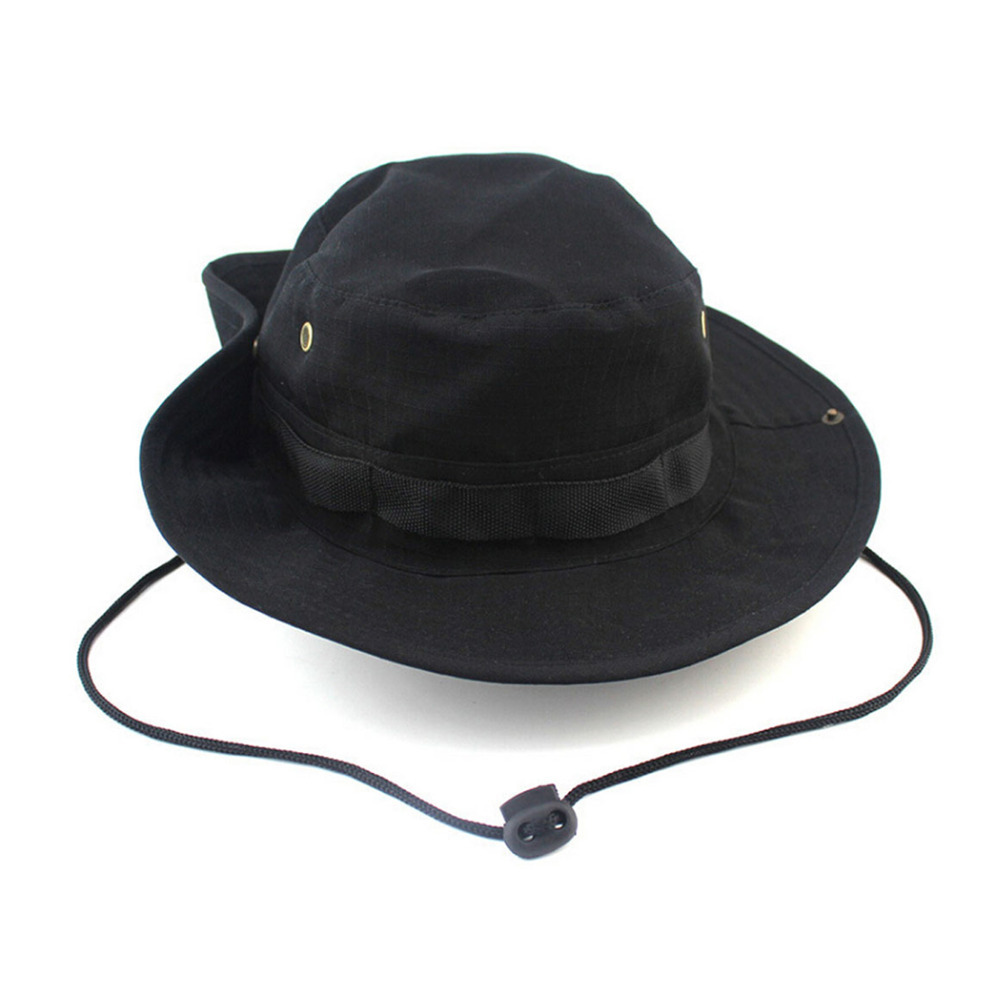 Bucket hat boonie hunting fishing outdoor cap wide brim for Fishing hats for sale