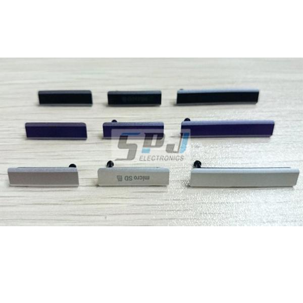 Original Micro SD Card SIM Card USB Charging Port Flap Dust Plug Block Cover Set for Sony Z1 L39 L39H C6903 C6906 C6943