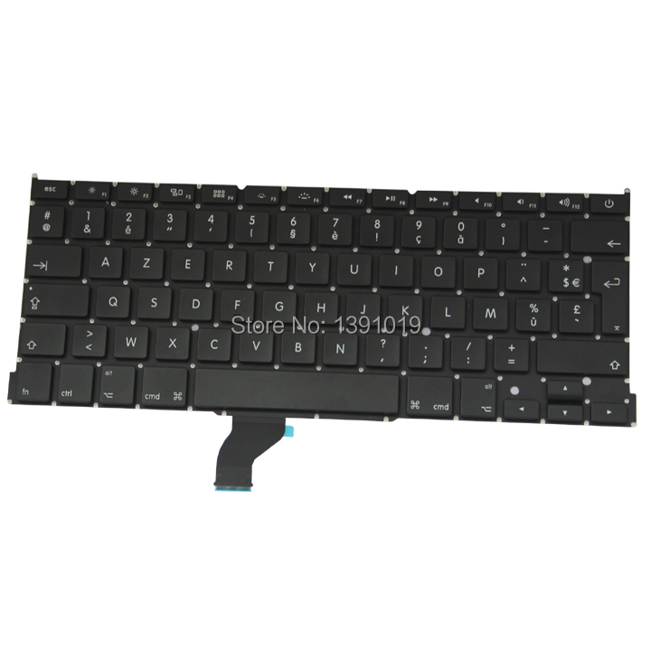 French Keyboard For Apple Macbook Retina A1502 French Keyboard Replacement 2013(China (Mainland))
