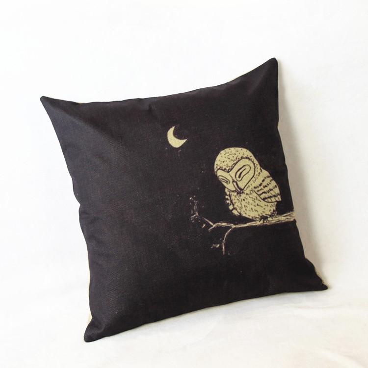 Custom Throw Pillows For Sofa : European painting Nordic style pillow Cushion Custom Linen Decorative Throw Pillows Sofa Chair ...