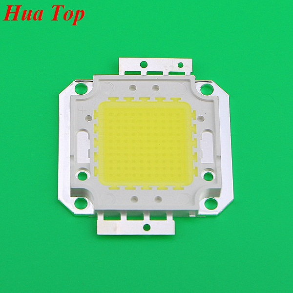 1Pcs Full 100W LED Integrated Chip light Source IC 10000LM High Power lamp Chips 32-35V 30*30mil Epistar SMD COB Floodlight Bulb(China (Mainland))