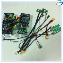 Dual motherboard replacement control board for hoverboard