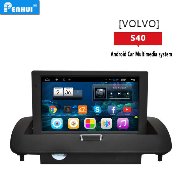 PENHUI Android 4.4 quad core Car PC GPS No disc For Volvo S40 S60 C30 C70 (2008-2012)(China (Mainland))