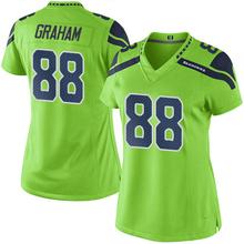 Women's #88 Jimmy Elite Green Rush jersey 100% stitched(China (Mainland))