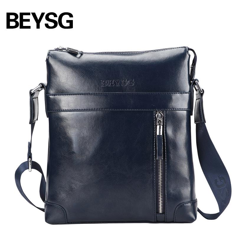 New Arrival Men Shoulder Bag Leather Sling Bag for Men Good Quality Men Messenger Bag Sales Leather Tablet Bag(China (Mainland))