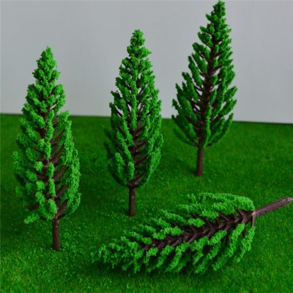 110mm architectural green pine models tree,miniature plastic pine tree model for scene model<br><br>Aliexpress