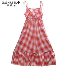 Song Riel fashion lovers cute plaid pajamas Ms casual and comfortable cotton men ranking Suit spring