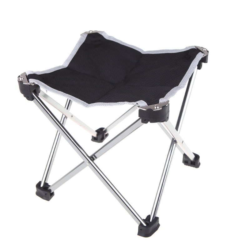 Portable Stool Outdoor Beach Folding Chair of Stainless Steel+bag,for Fishing Sunbathing Picnic Barbecue Chair Party Camping(China (Mainland))