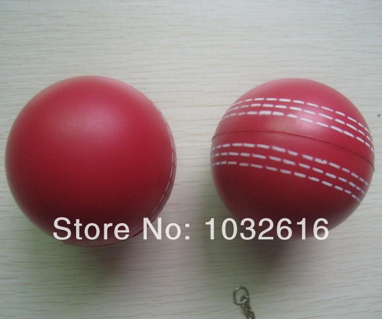 Cricket ball PU stress ball with custom logo printing(China (Mainland))