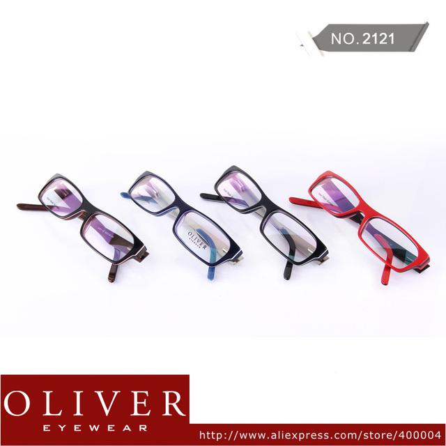 Free Shipping!2013 New Design Acetate + Stainless Steel Patchwork Fashion Optical Frame For Men Eyewear Frame Brand 2121