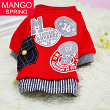 Buy New Cotton Dog Sweater Shirt Pet Clothes Fashion Baseball Uniform Jersey Coat Clothing Small Dogs Apparel 2016 for $3.83 in AliExpress store