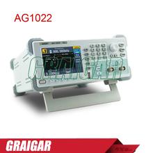 Ag1022 Dual channel generador de onda arbitraria, 25 MHZ de ancho de banda, 125 MSa / S frecuencia de muestreo, 8 K pts Arb longitud de onda