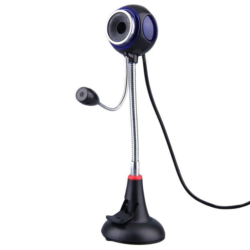 Free Drive USB 2.0 PC Camera Webcams Microphone 30FPS 1.5m USB Computer Web Camera For Skype MSN Laptop Notebook Picture Video(China (Mainland))