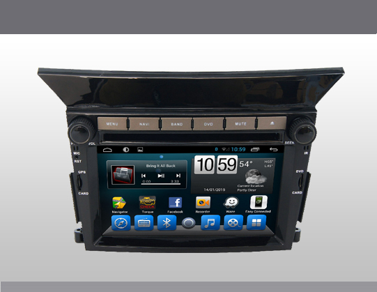 6.5'' Android 4.4 Car DVD player for honda Pilot with Capacitive Touch Screen+3G+car pc+aduio free shipping free SD card(China (Mainland))